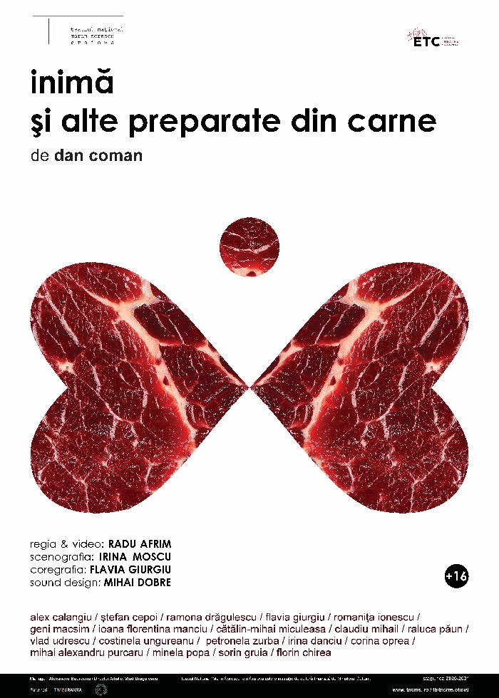 afis inima si alte preparate din carne